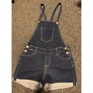 Overalls Jeans Shorts